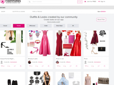 How is Fashmates Helping Create Looks and Outfits?
